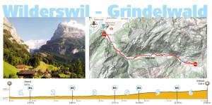 routeinfo Wilderswil Grindelwald